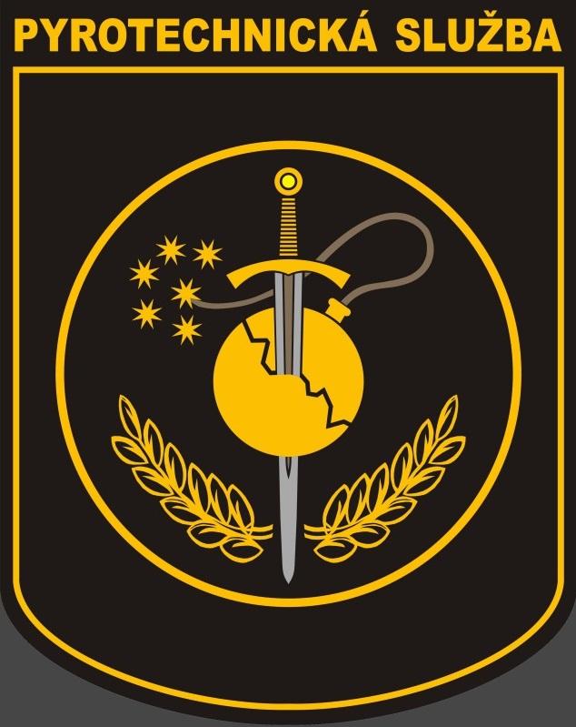 znak pyrotechnické služby