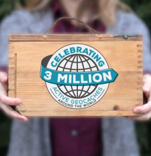 Oslavte 3 miliony keší