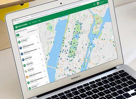 Nové mapy na geocaching.com